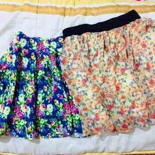 Floral Skirt Bundle #2