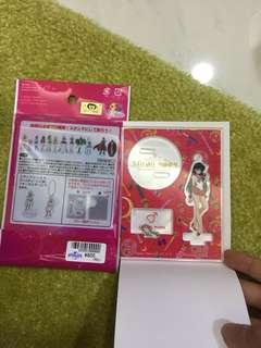 Sailormoon 美少女戰士 sailormars figure & keyring