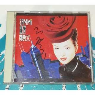 Sammi Cheng Autograph cd Deep Love Zheng Xiu Wen 郑秀文