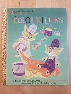Book - Little Golden Book: Colour Kittens *Preloved, in good condition!*