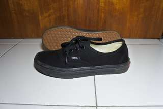 vans full black Original