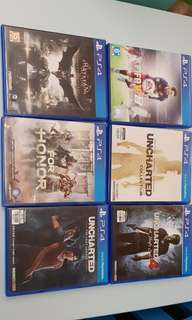 Sale of PS4 Games