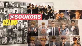 [CLEARANCE SALE] EXO Growl Albums with Pc
