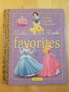 Book - Little Golden Book Favourites, Volume 2 *Preloved, in good condition!*