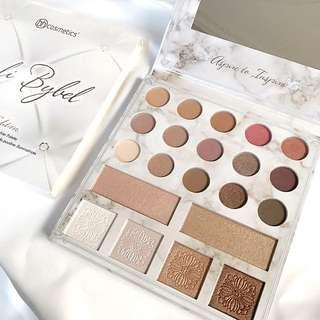INSTOCK BH Cosmetics Carli Bybel Deluxe Marble Eyeshadow Palette