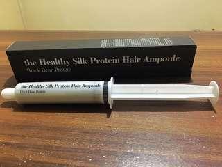 The Healthy Silk Protein Hair Ampoule - Black bean protein