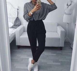 HQ Black Trousers