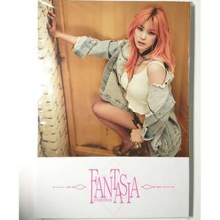Kpop CD: Jun Hyo Seong 全烋星 (Secret) Fantasia EP