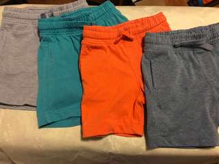 Mothercare 4 set Shorts -12to18mos
