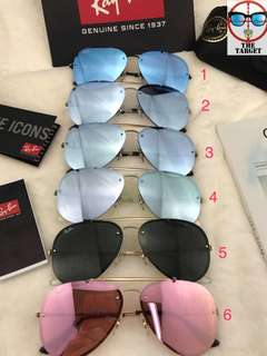 RB3584-N ray Ban aviator blaze 61mm size brand new full packages original