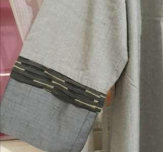 Gamis kimono, premium, bahan tebal di pakai rapih, tidak terawang. Detail tangan cantik. Baru yaaah, sisa pameran.