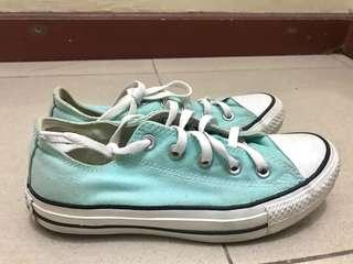 Converse Low Cut (Mint Green)