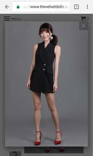 Yves Tux Playsuit
