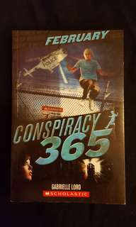 CONSPIRACY 365 ~ February by Gabrielle Lord