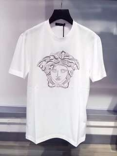 Versace Tee Man 白色 Size:XL, XXL Real and New
