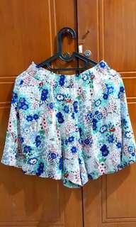 Uniqlo Satin Skirt Pants size L
