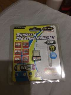 Wireless USB adapter