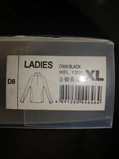 💯🆕🈹(最後1件)雞仔嘜📣(香港店買)羊毛內外衣TechwooL D300 Black wel 1202 原價$789