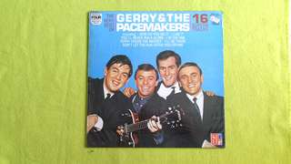 GERRY & THE PACEMAKERS . the very best of 16 superb tracks (you'll never walk alone) vinyl record