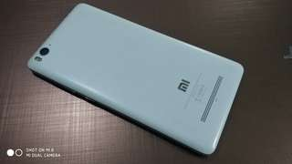 Xiaomi Mi 4i ram 2/16 putih ex-grs resmi fullset