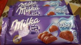 Milka Chocolates