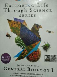 SHS book General biology and chemistry
