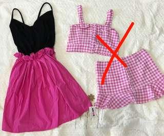 Dress + cutie set buy both only 80k