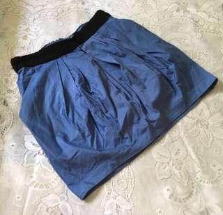 H&M Blue Skirt