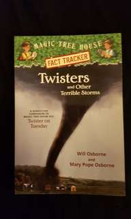 Magic Tree House FACT TRACKER ~ Twisters and Other Terrible Storms