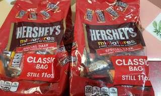 Hersheys Miniature Assorted Chocolates