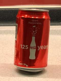 Coca-Cola 可口可樂 125 Years Open Happiness
