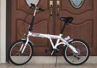 Aleoca foldable bike In Stock(Left 1)BLACK