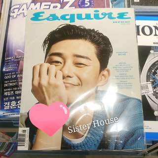 🇰🇷Esquire Korea Magazine June 韓國雜誌6月刊朴敍俊封面