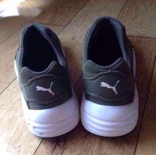 Puma Trinomic Sock NM x Stampd Olive Green