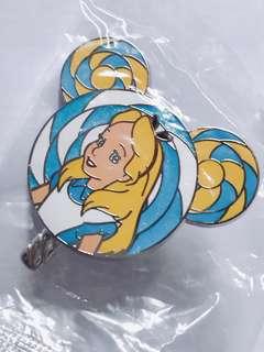 [交換優先] 迪士尼 愛麗絲 pin