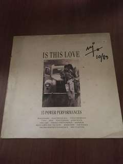 Is This Love Compilation LP by EMI