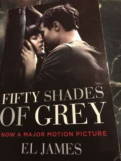 Fifty Shades of Grey (A major motion picture) by EL James