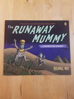 Book - The Runaway Mummy *In almost new condition!*