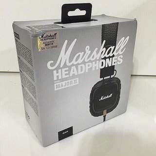 Marshall Major II On-Ear Headphones with Mic Headset