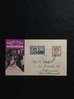 1953 New Zealand Royal Visit Souvenir Cover