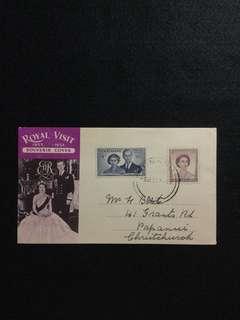1953 New Zealand Royal Visit Souvenir Cover