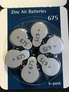 Phonak Zinc Air Batteries 675 - Hearing Aid Batteries 6-pack