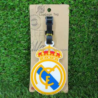 Silicone Luggage Tag Travel Accessories - Real Madrid