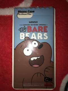 Case Iphone 7 plus We Bare Bears Grizzy