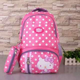 Polka Hello Kitty Backpack