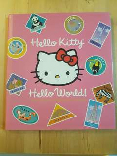 Book - Hello Kitty's Hello World *In almost new condition!*