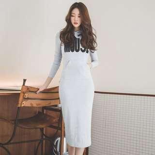 🚚 AA-106 KOREAN DRESS (INSTOCK)👚👗🇰🇷