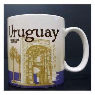 【端午節前任2件物品折扣200】STARBUCKS 星巴克 南美洲 烏拉圭 URUGUAY 城市杯 馬克杯 16OZ