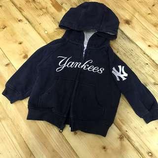 Yankees Zipper Hoodie Sweatshirt
