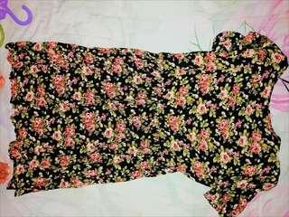 Forever 21 Dark Floral Dress